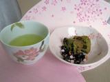 鮮やかな新茶の色♪