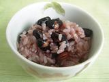 『山本商店』「黒煎豆」のご飯