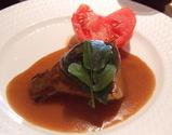 「新筍と椎茸のステーキ」