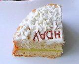 美味しそうなバースデーケーキ♪