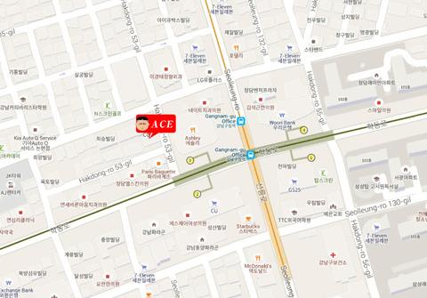 カンナム区庁駅