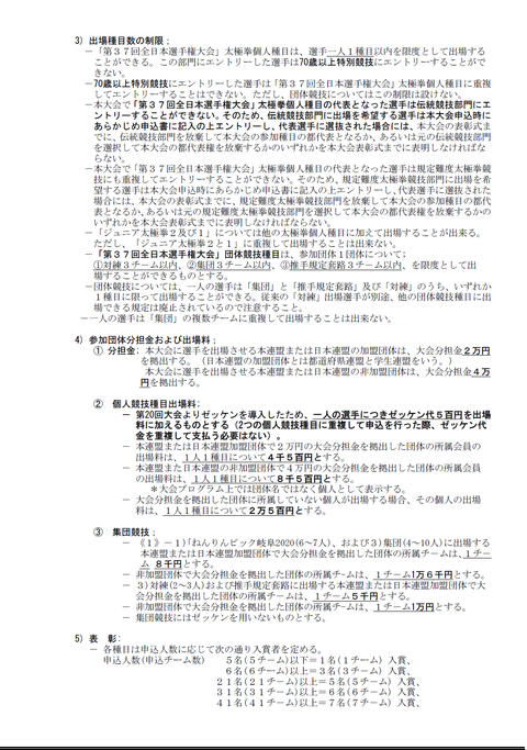 2020年第27回東京都大会③