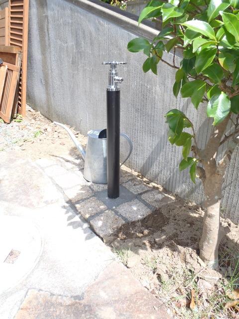 車庫部散水栓
