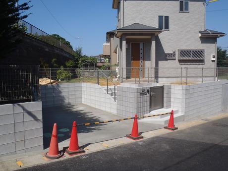 コンクリート完了