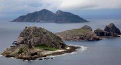 中国、尖閣で「領空侵犯」主張 海保機に退去要求
