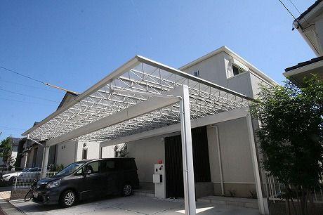 カーポート愛知県施工例