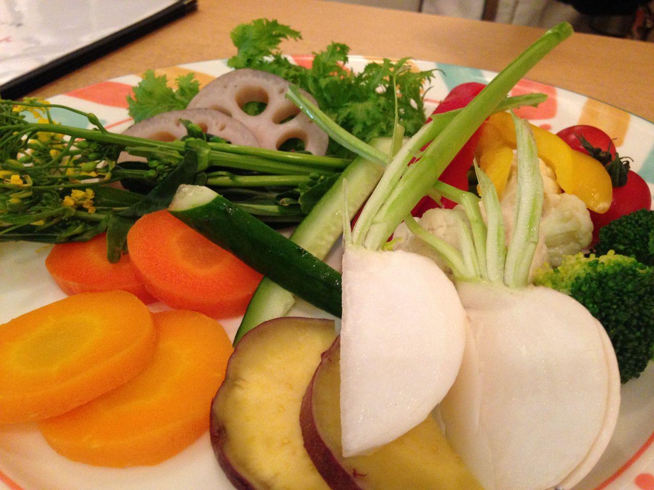ジャックポットの野菜