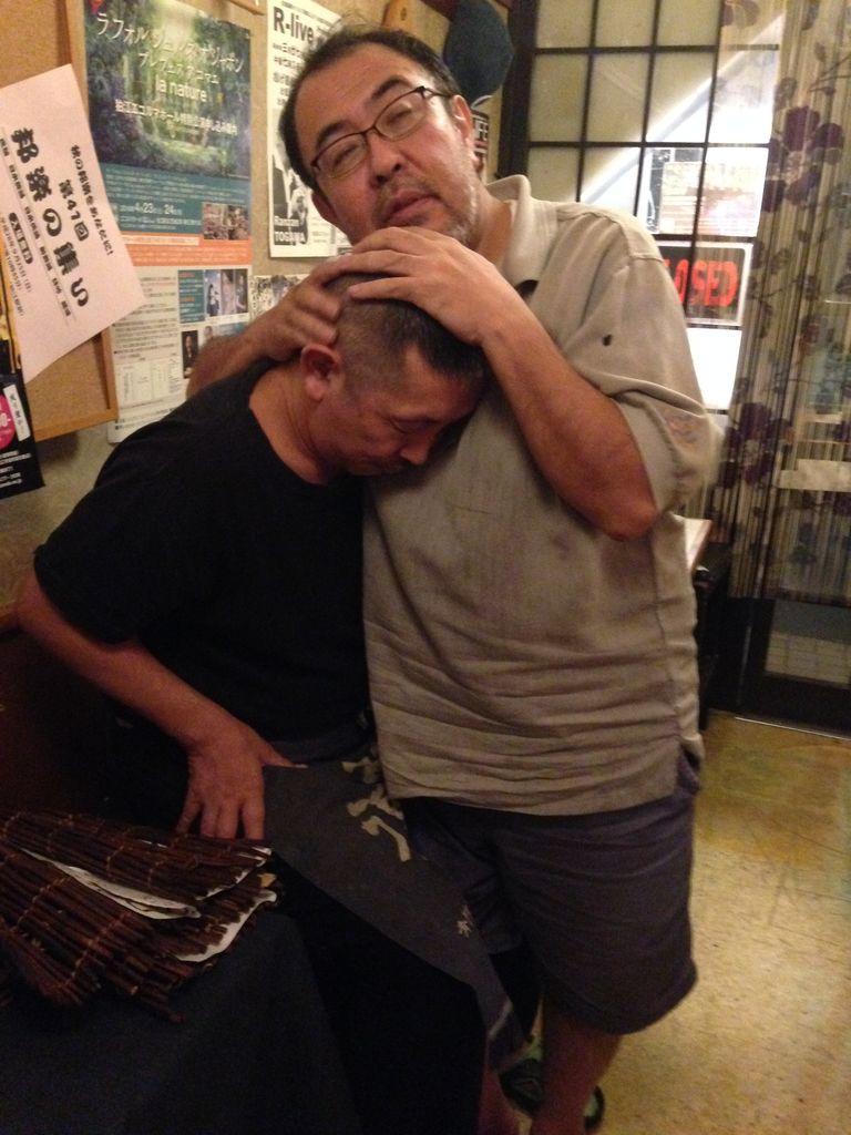 池田洋平ちゃんとハグ?