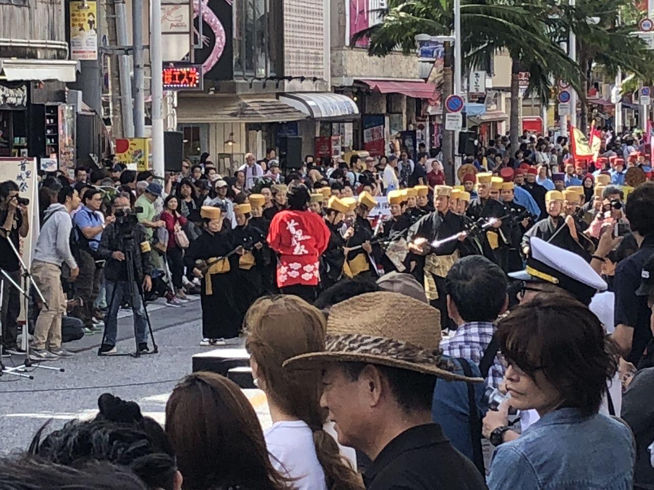 首里城祭りパレード