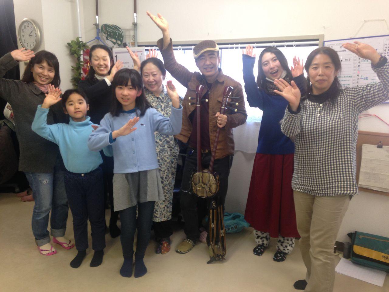 琉球舞踊体験者