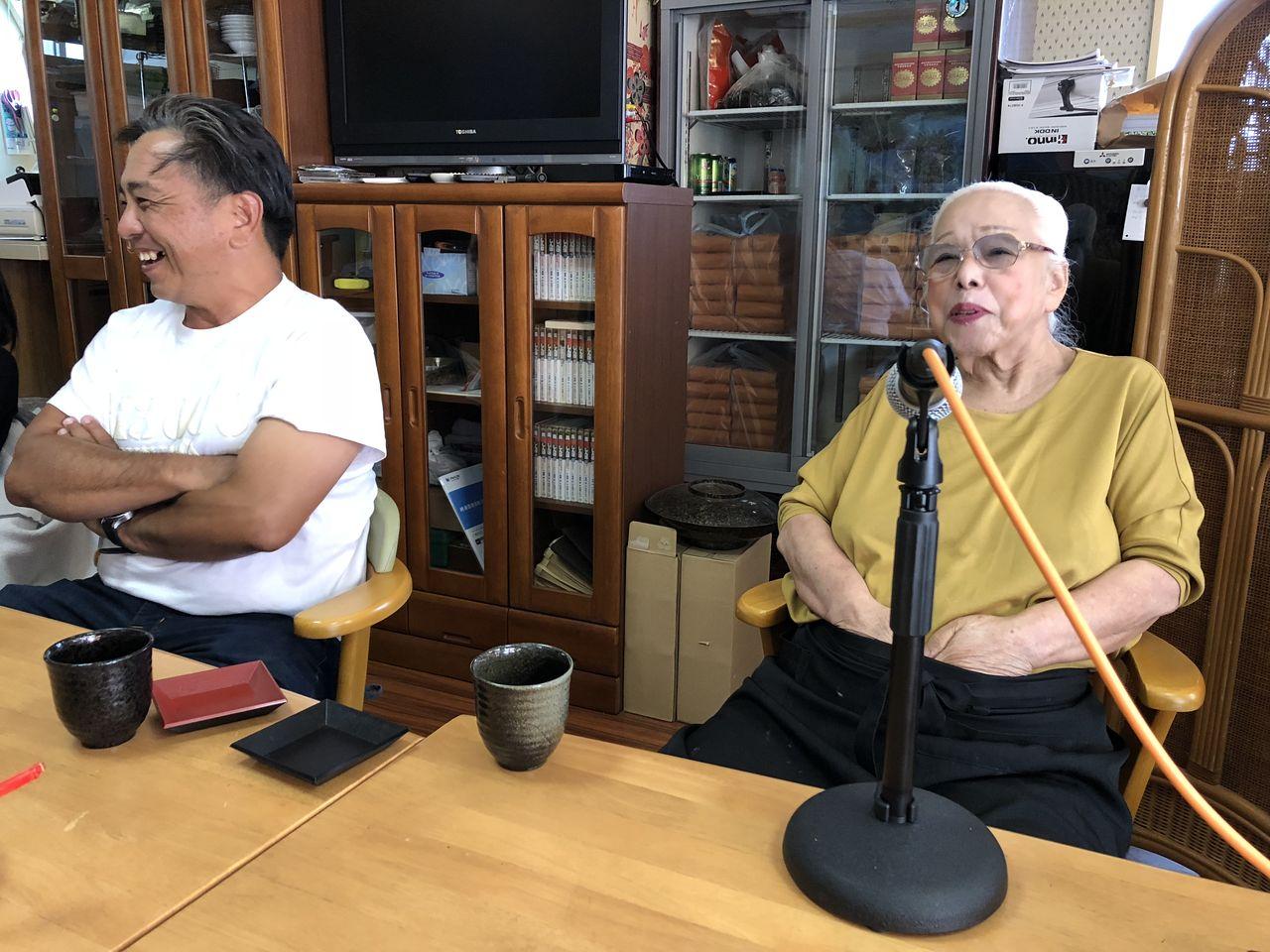 渡口初美インタビュー