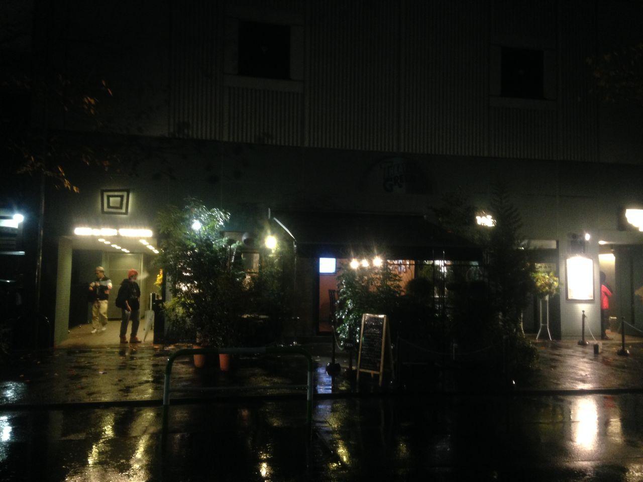 雨のシアターグリーン