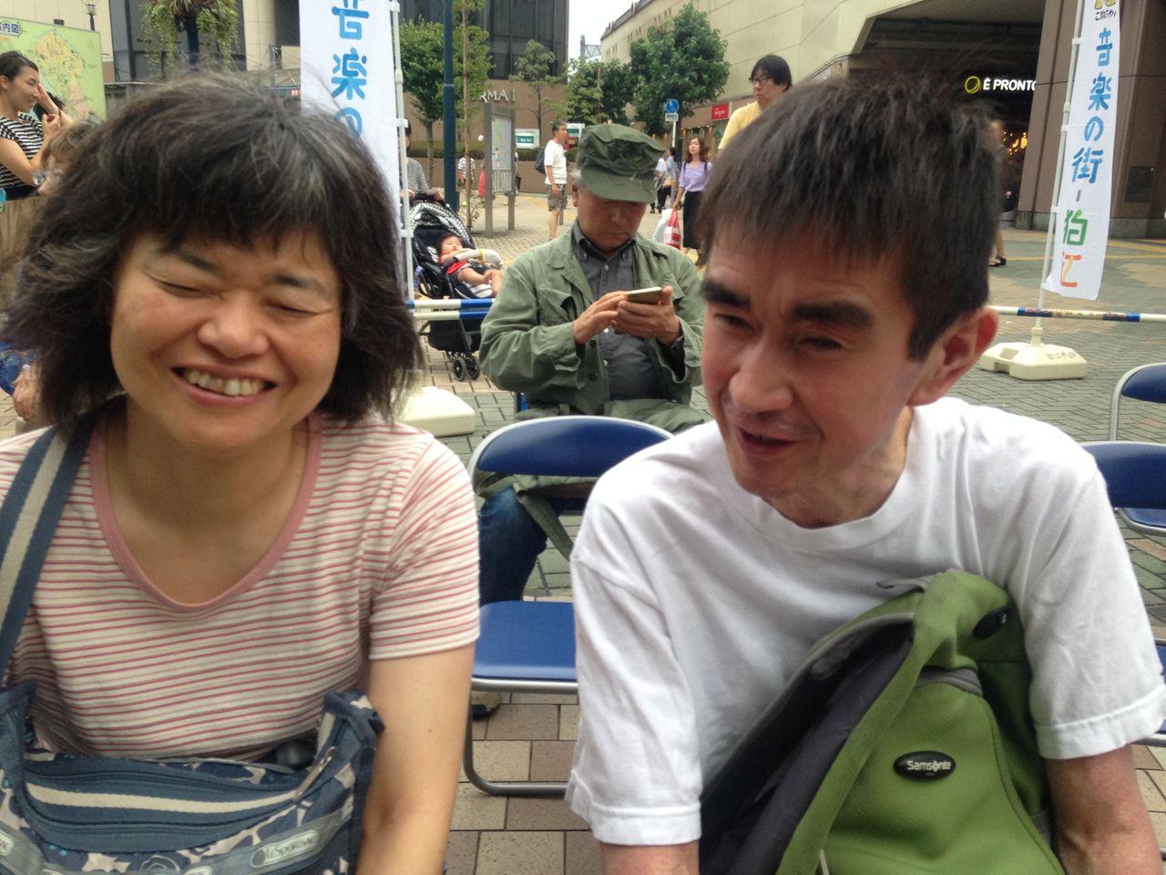 伊藤聡子さんと瀬戸洋平さん