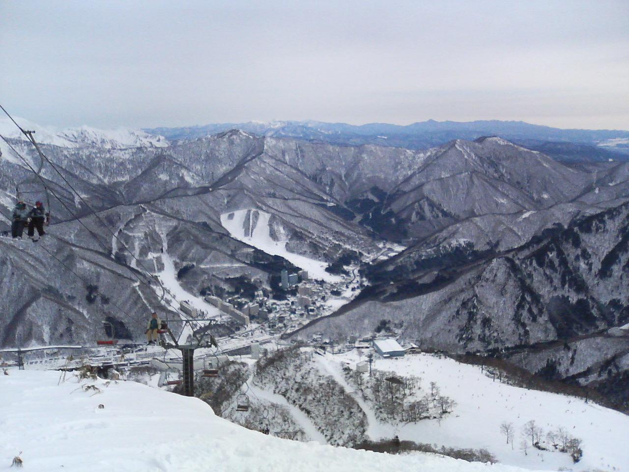 天気 苗場 スキー 場