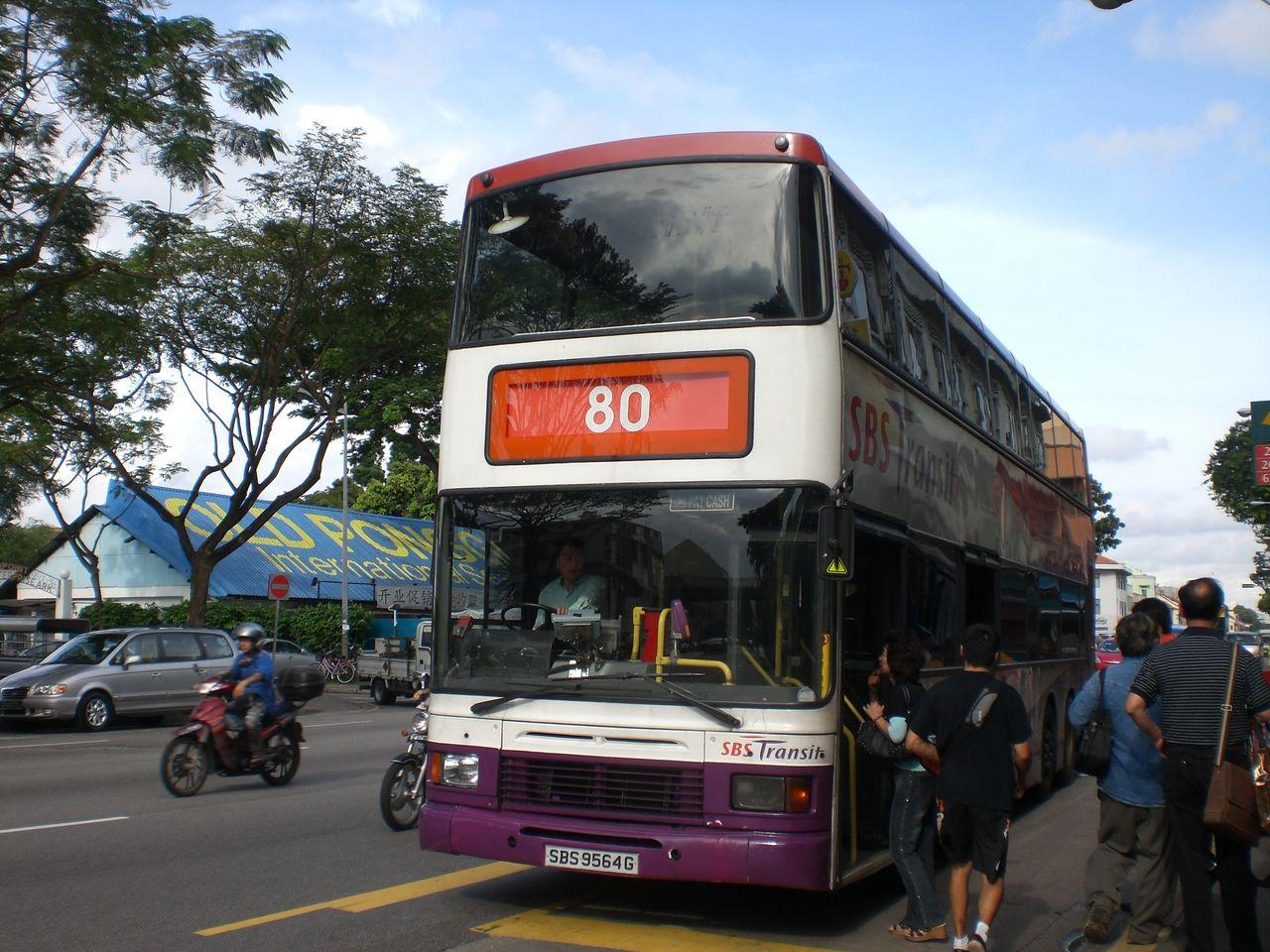 GAKUの旅記録   SBSトランジット 80系統バス コメント
