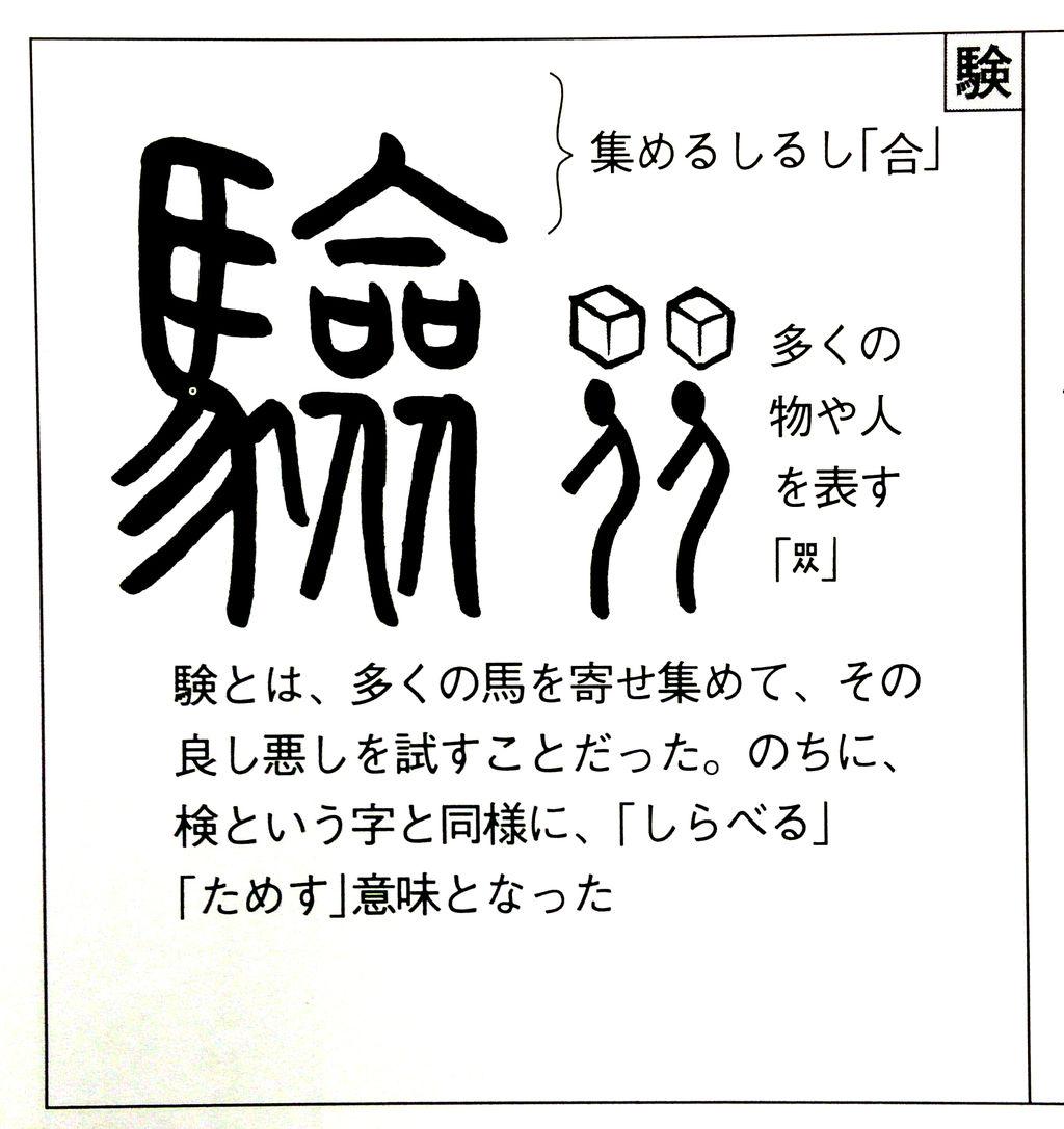 入試シーズン真っ最中!試験の「験」の漢字の由来とは?? : がくぶん ...
