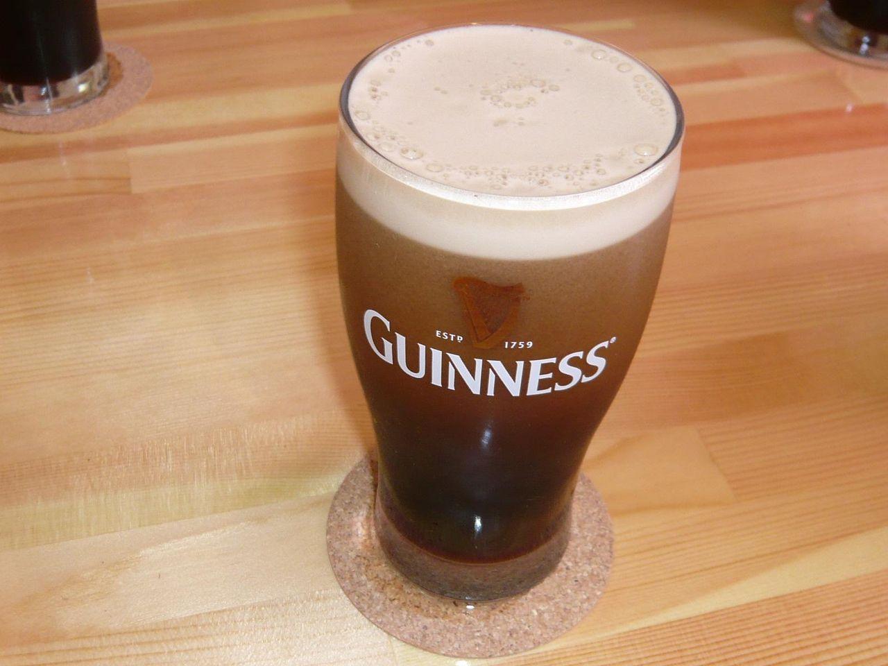 生ガキに良く合う、ギネス黒ビール