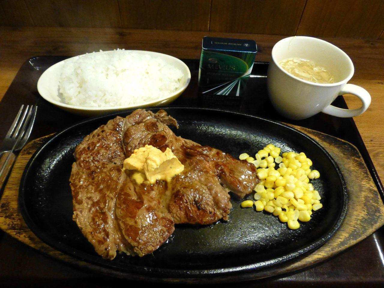 土日・祝日なら「いきなりステーキ」よりお得だと思います!