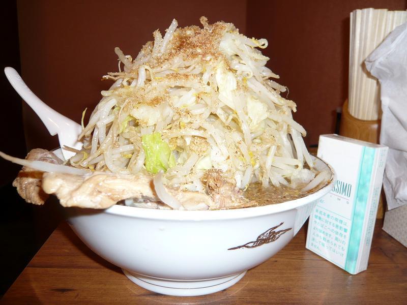 和風らーめん特盛(野菜大盛)750円