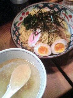 函館塩つけそば大盛(同料金)700円+煮玉子(サービス券)