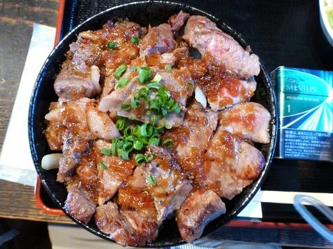 たかはんステーキ丼大盛2