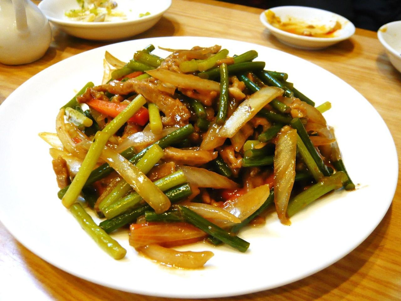 襄陽の肉と玉ねぎ細切り炒め1,000円