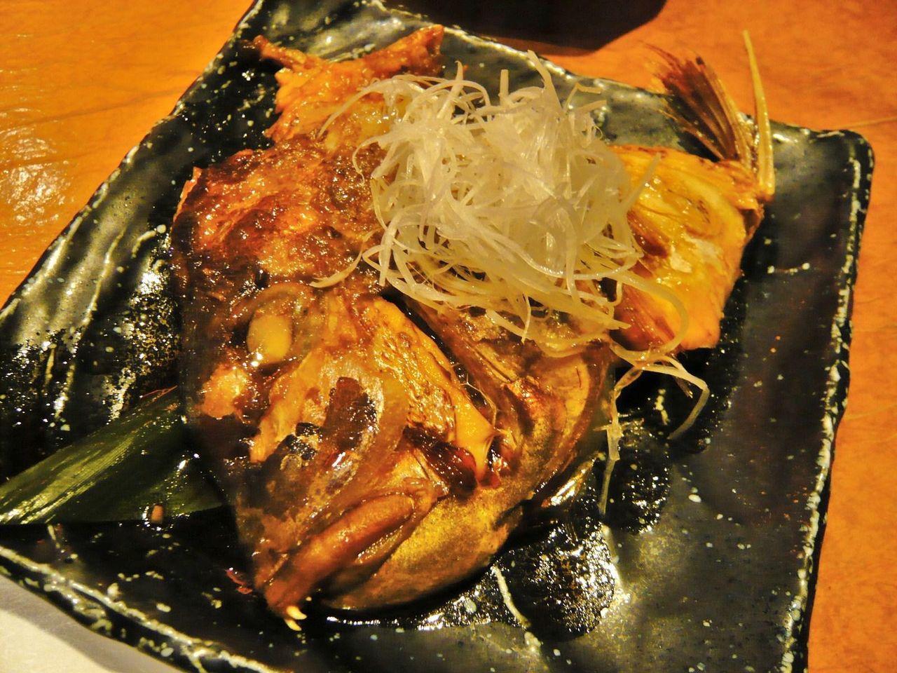鯛カブト煮580円