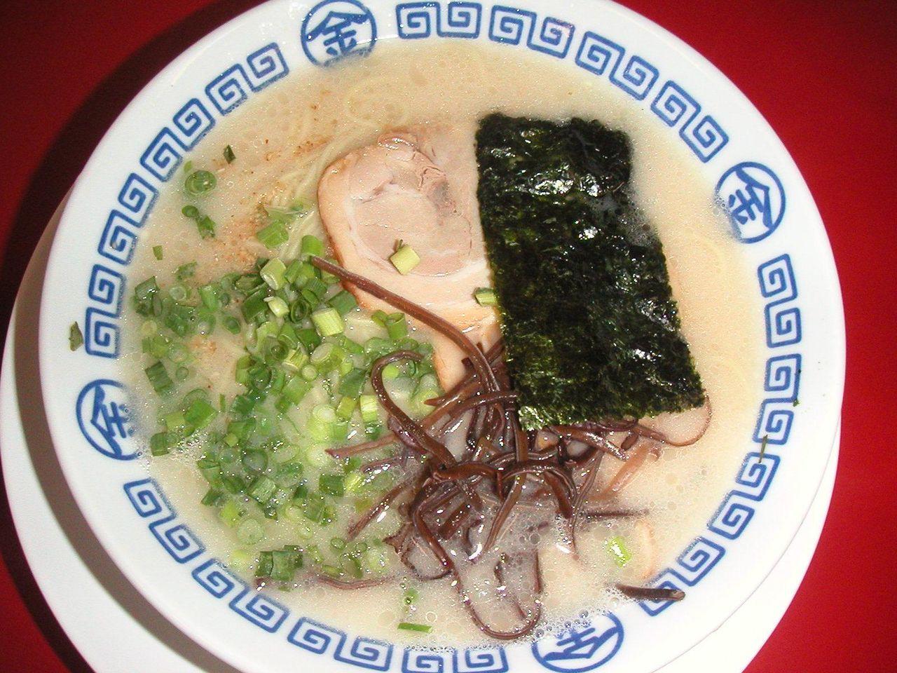 博多ラーメン550円