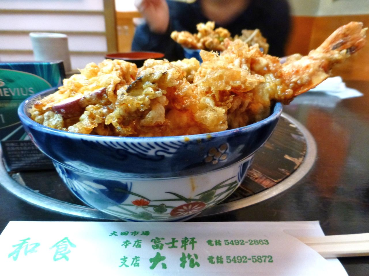 大田市場の大松で、大海老天丼1,890円!