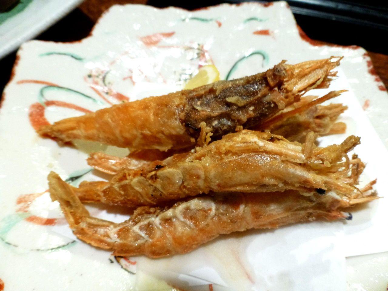 川海老より美味しい!ガサ海老唐揚げ530円
