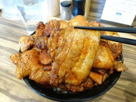 ぶたや 豚丼大盛肉増し3