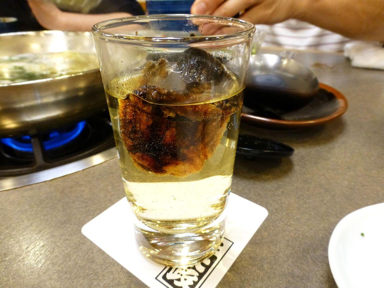 ひれ酒1,020円