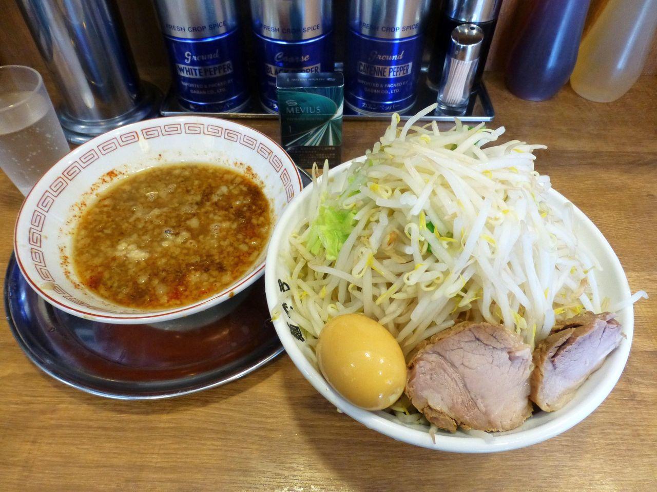 つけ麺780円は、コスパも素晴らしいと思います!
