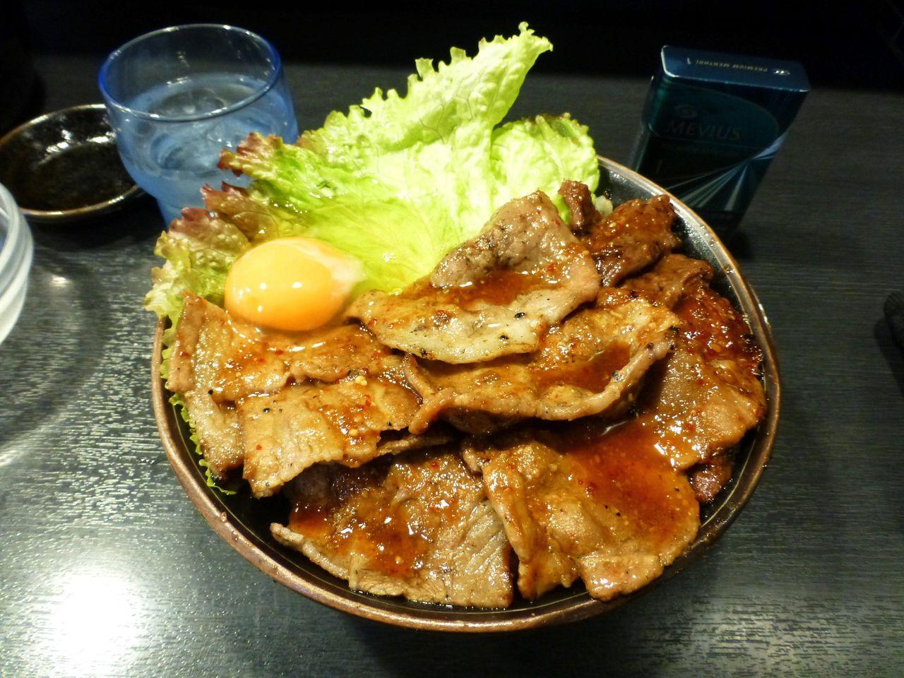 3種類の牛肉を使用して、牛肉のハットトリックや〜!