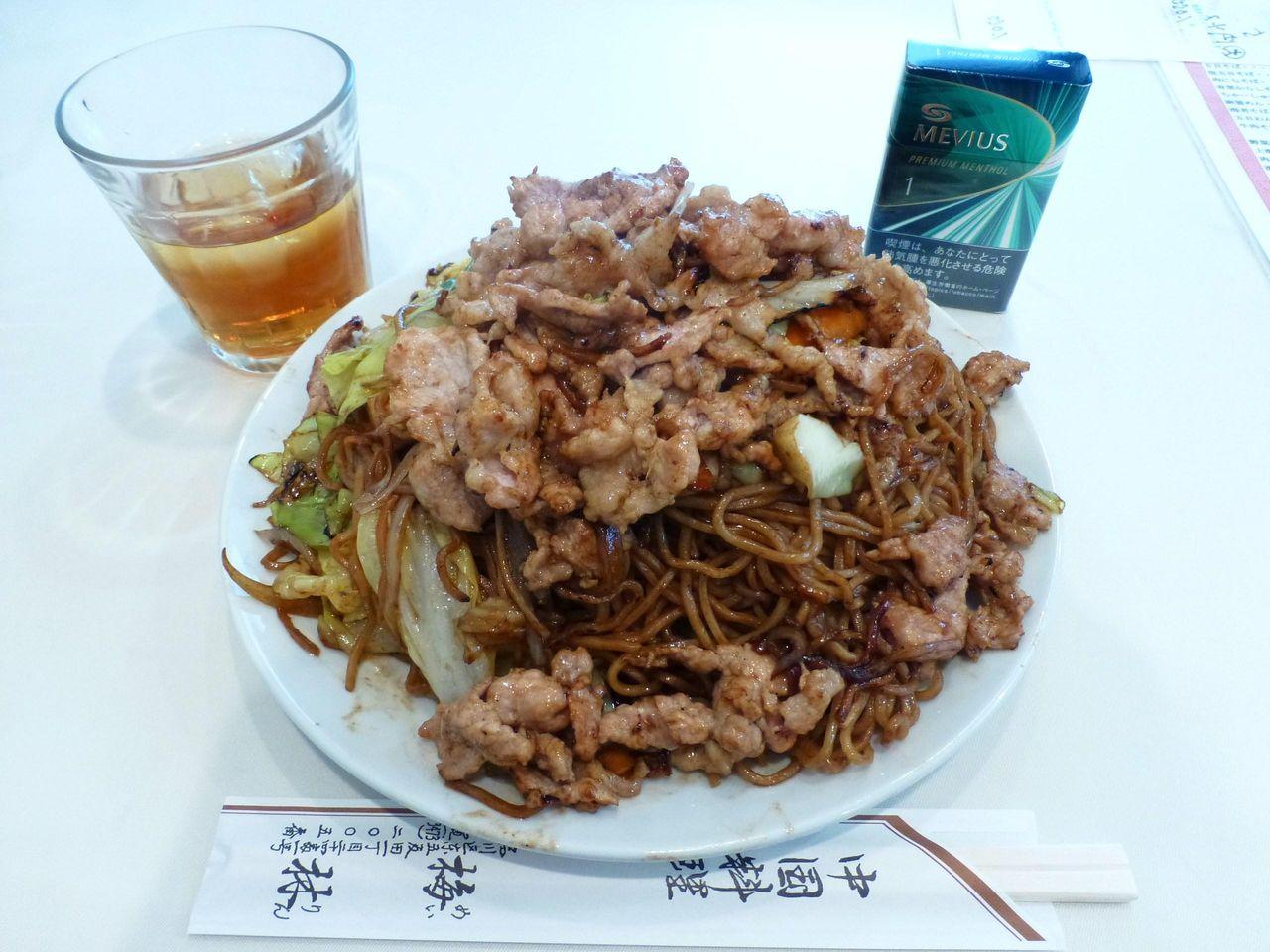肉ソース焼きそば大盛1,050円
