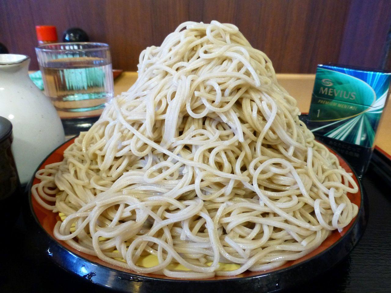 三ツ沢の「つか蕎麦」で、富士山もりそば!