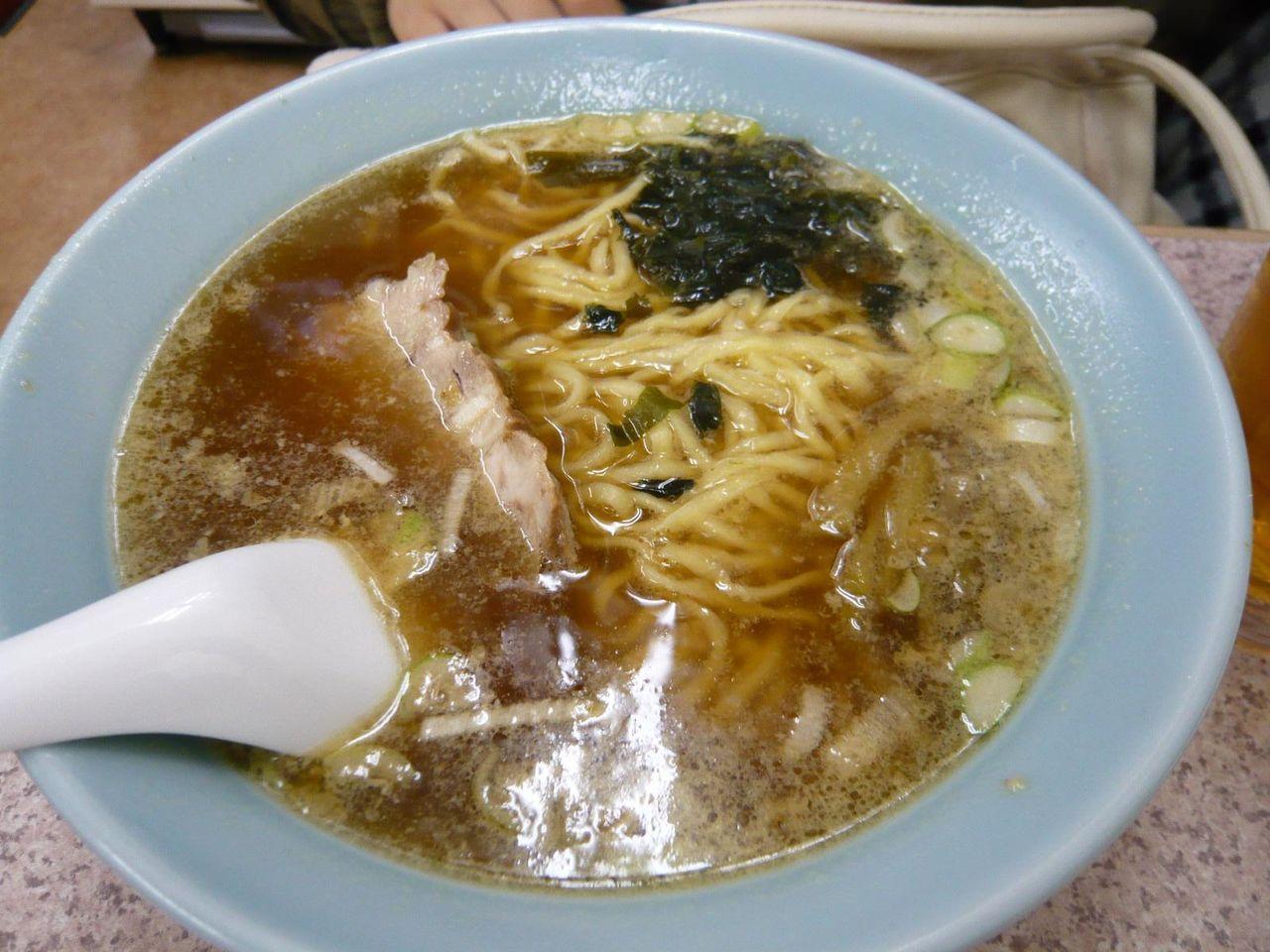 醤油ラーメン480円