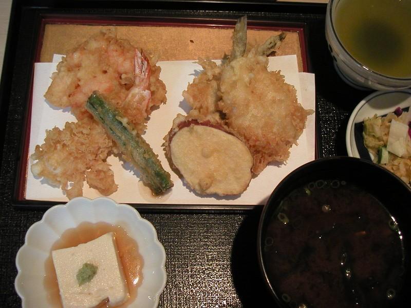 ランチ天ぷら定食1,000円
