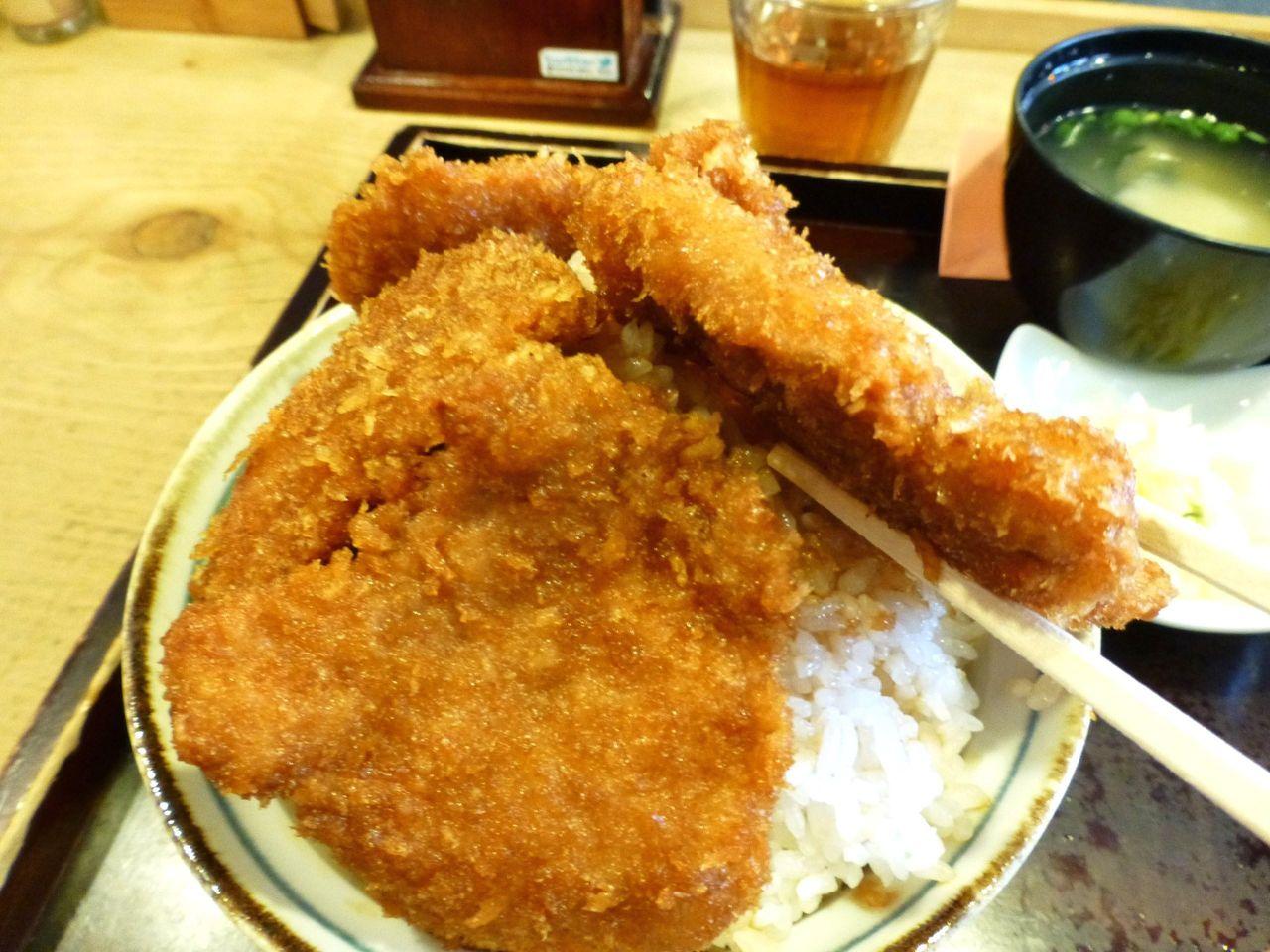 「和豚もちぶた」を使用したヒレカツは、フックラやわらか!