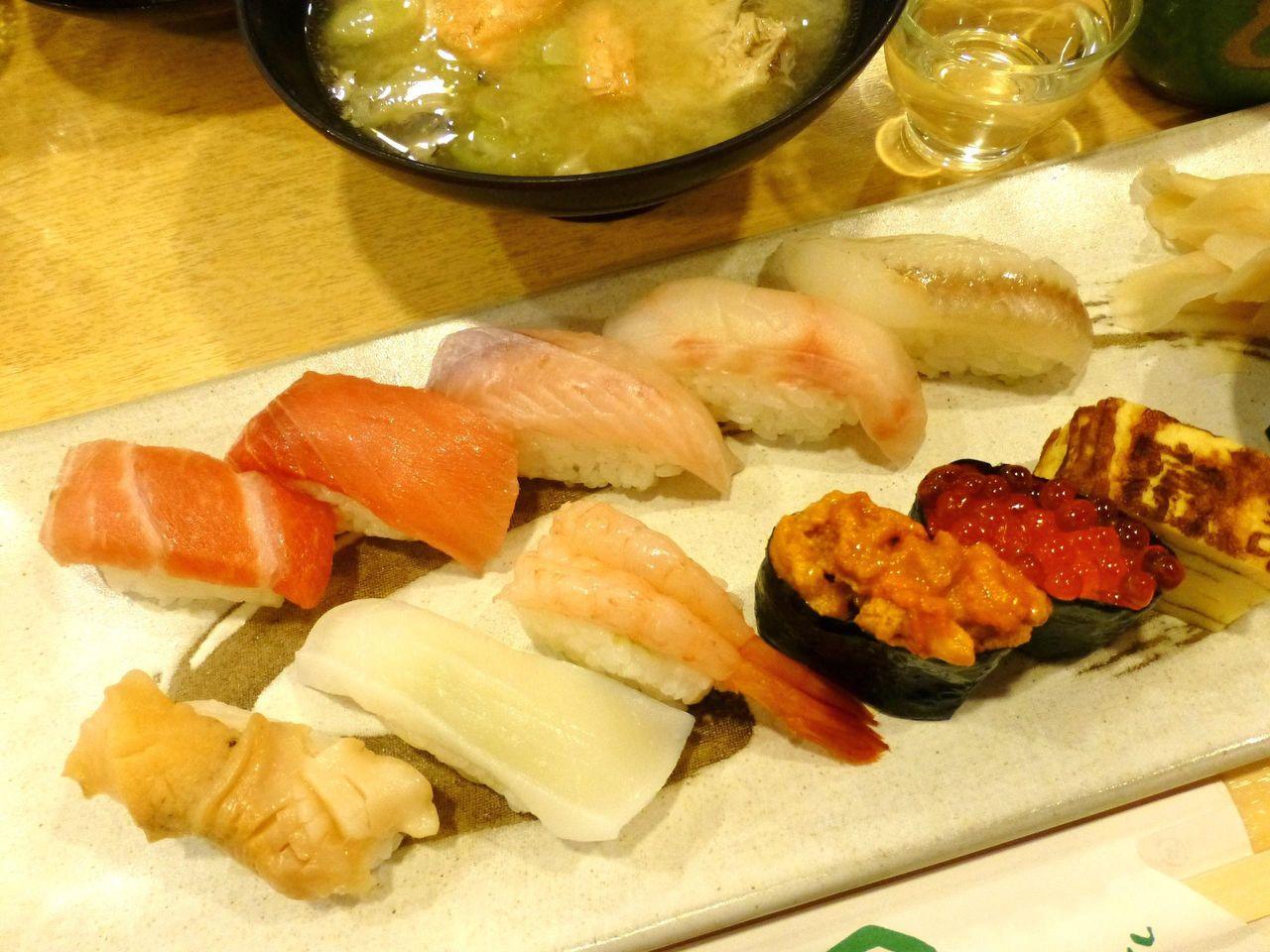 新潟のお米、日本海の魚を使用した、極3,000円!