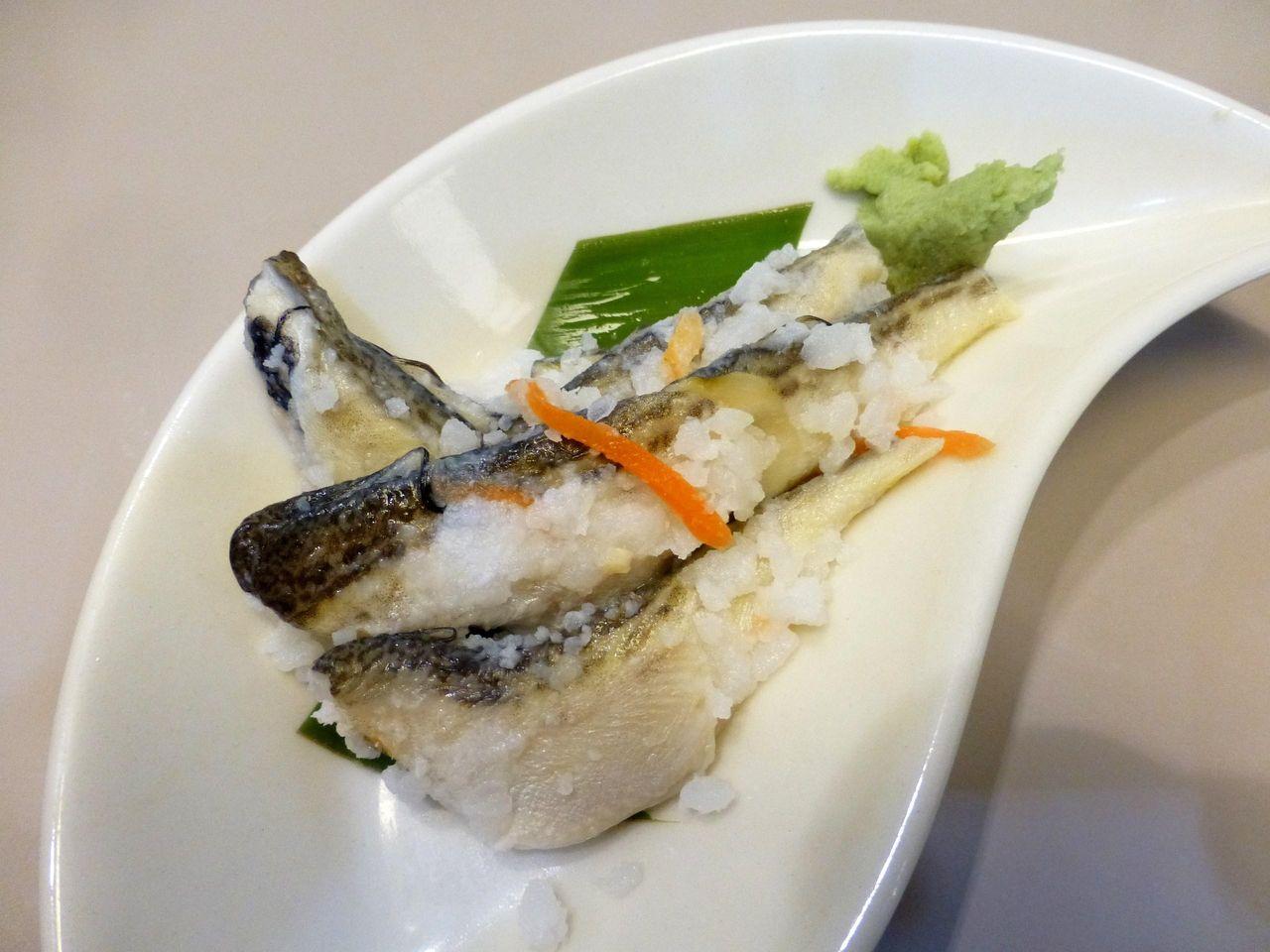 ハタハタ寿司520円