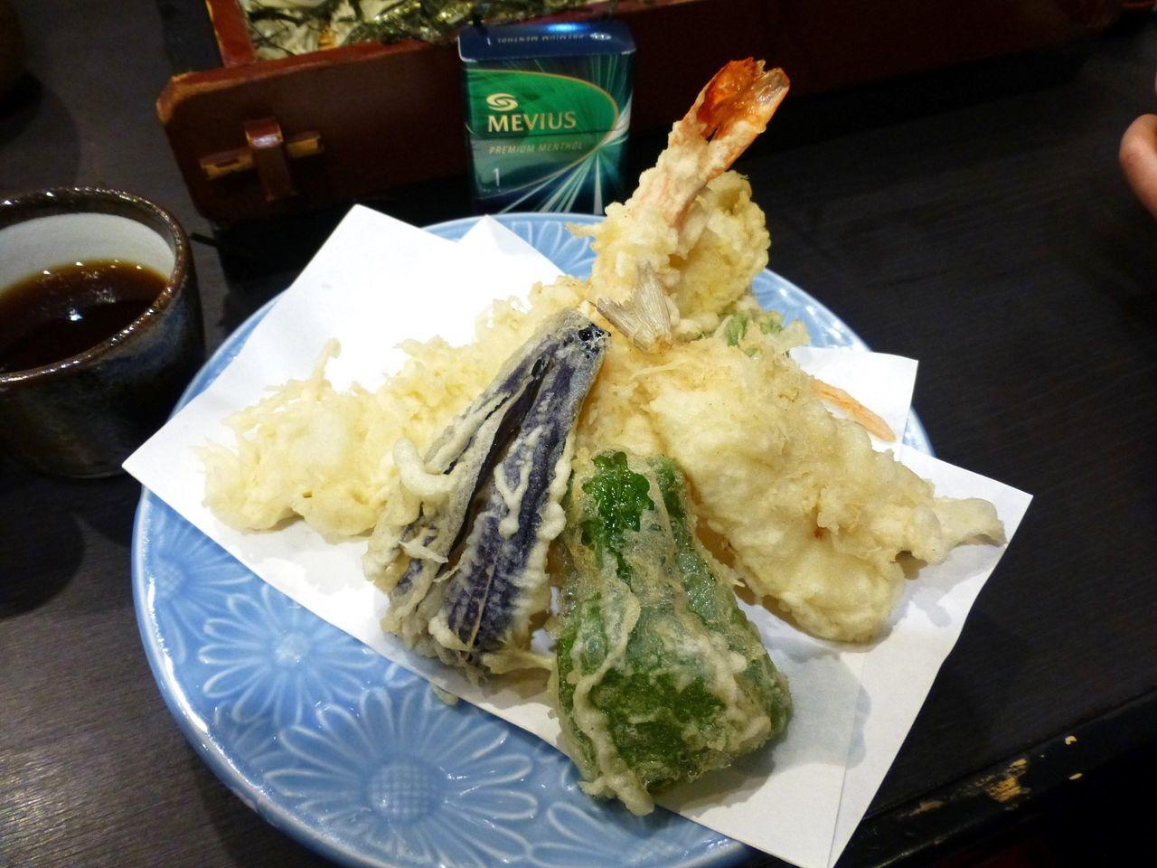 天ぷら盛合せ1,000円