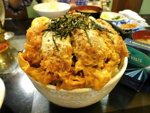 タクト とんかつ丼大盛2