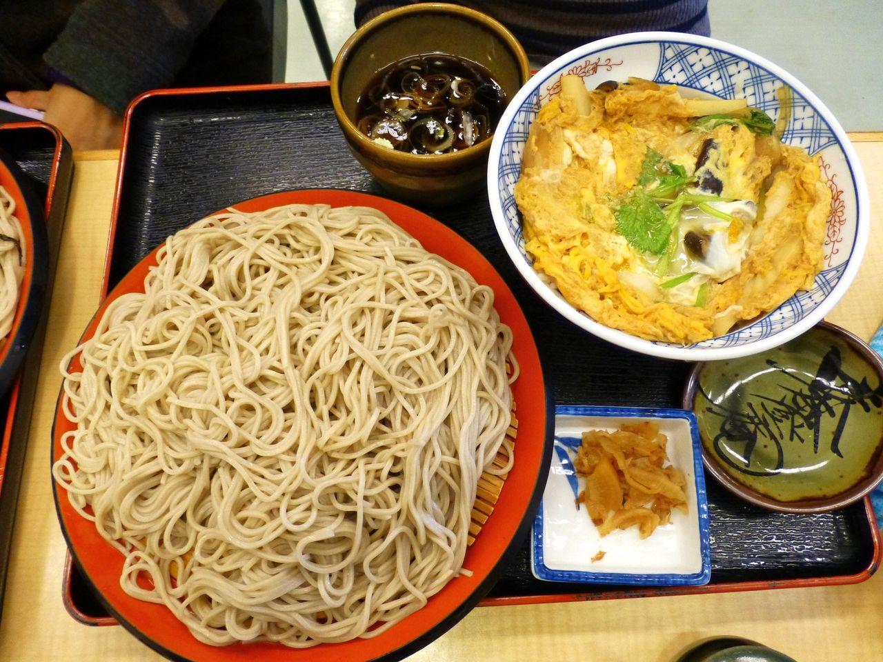 玉子丼セット730円