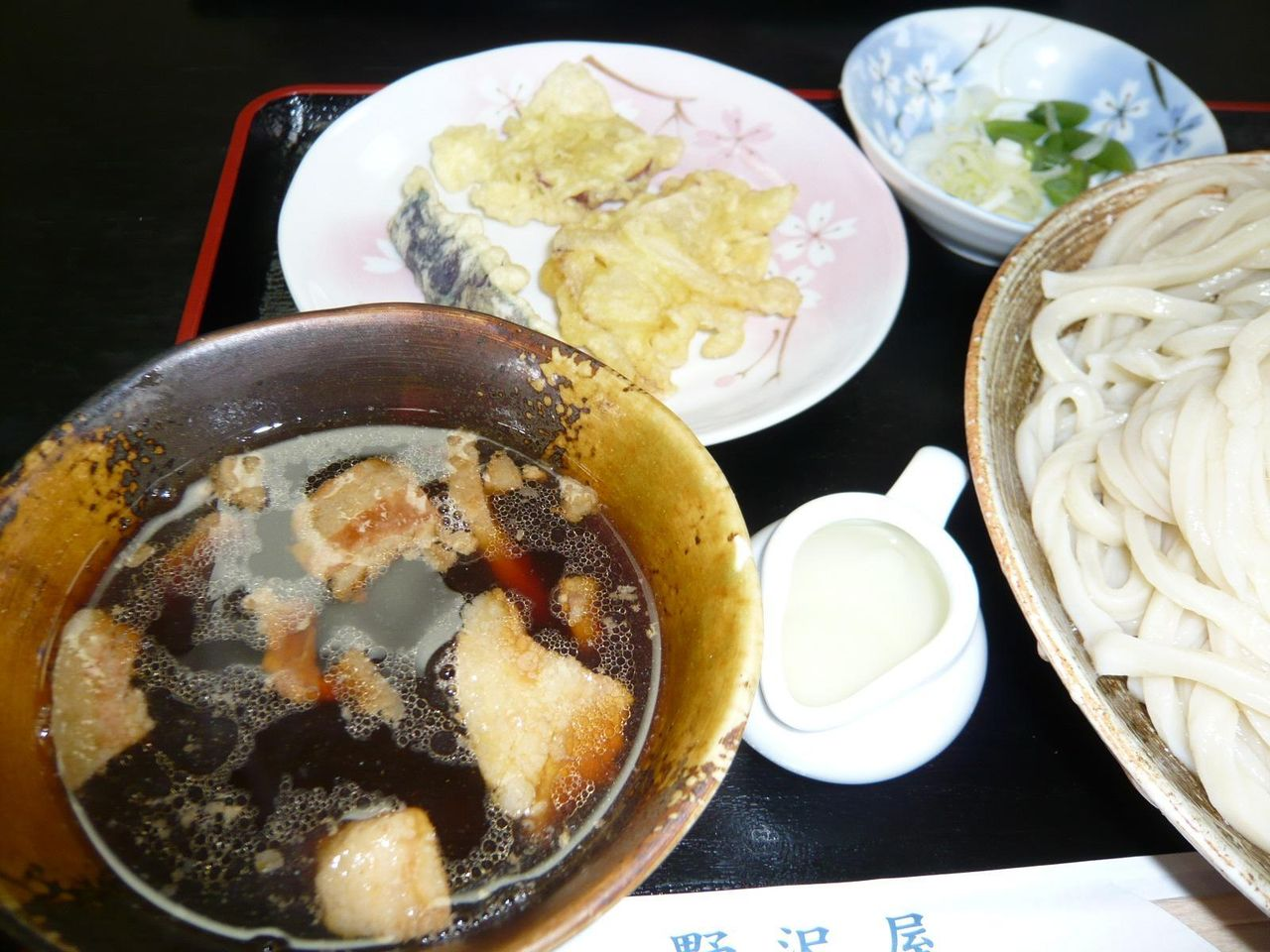 濃厚な肉汁、天ぷら