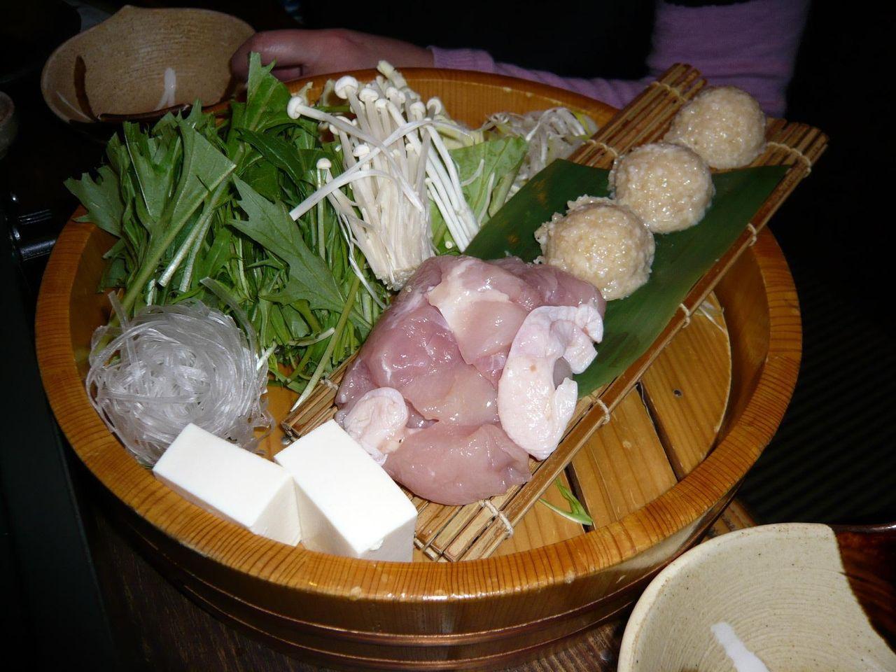 幻の地鶏「天草大王」の水炊き2,500円