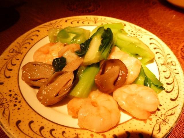 芝エビと季節野菜炒め