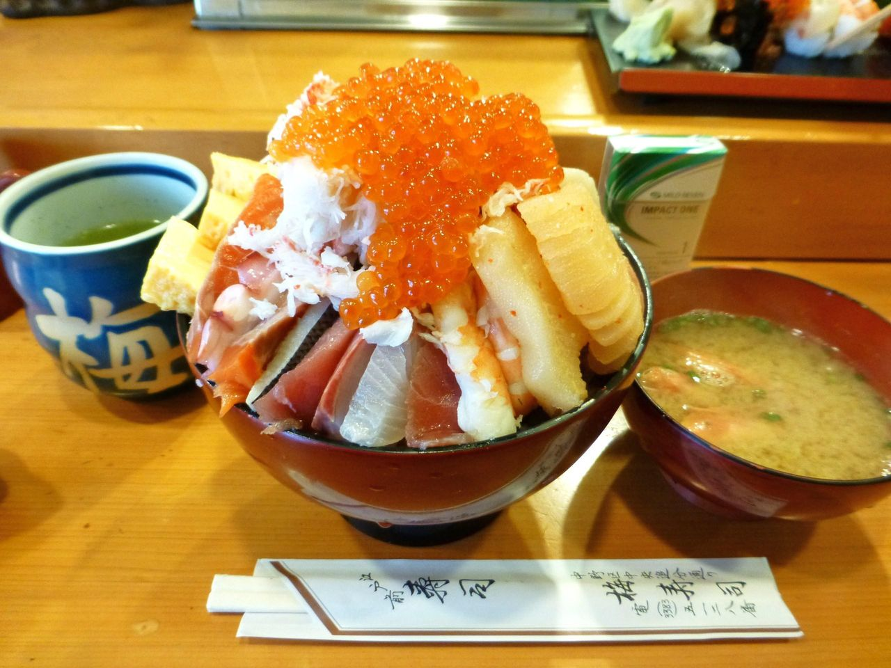 梅寿司の上ちらし大盛(1,800円)