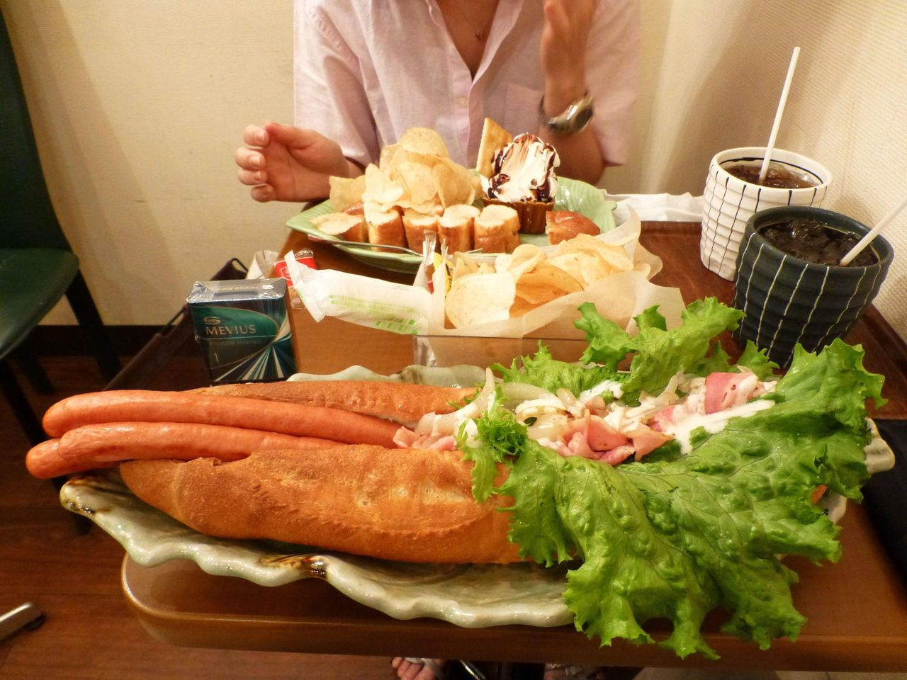 ビッグドッグ(ホットドッグ/ベーコン)1,100円