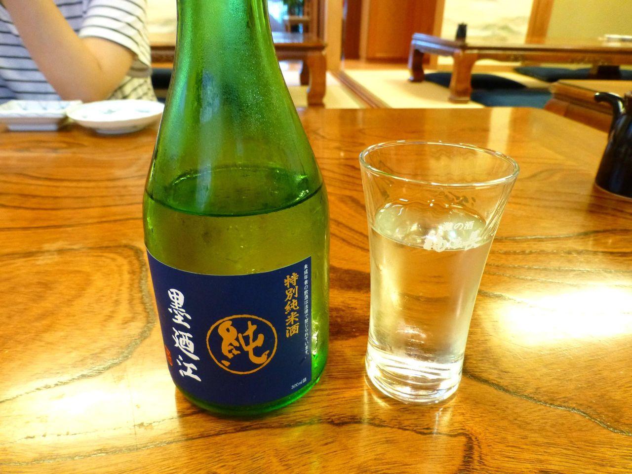 海鮮料理には冷酒が良く合います!